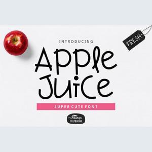 apple-juice-font