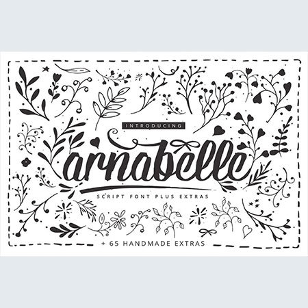 anabelle script font free download