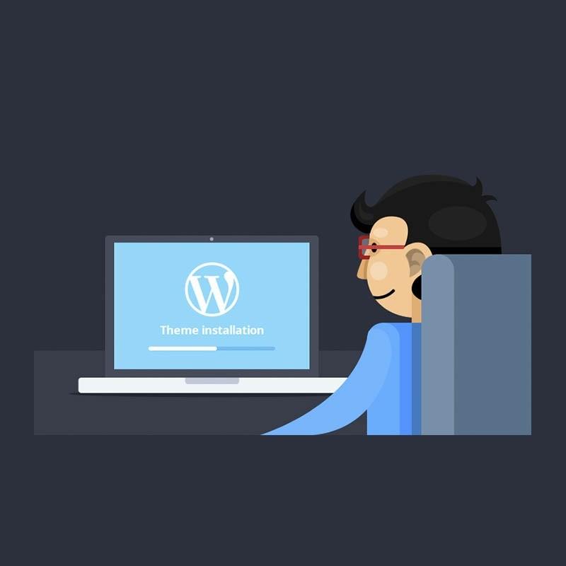 Cài đặt Theme WordPress