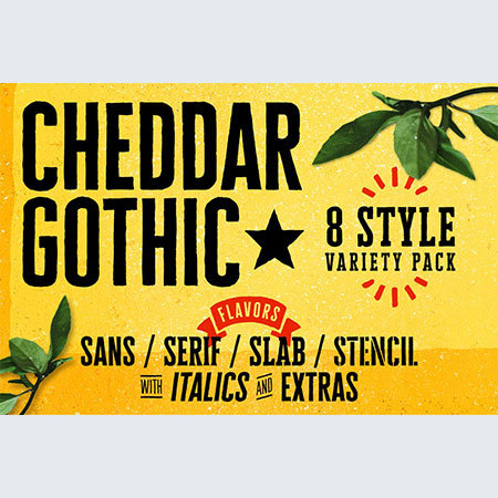 cheddar-gothic-font-family