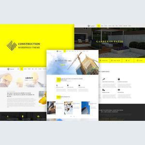Construction - Responsive Construction Theme - Theme Wordpress Xây Dựng