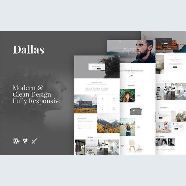 dallas-minimal-portfolio-business-wordpress-theme