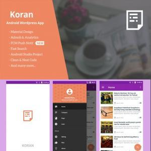 Koran – WordPress App with Push Notification 3.3