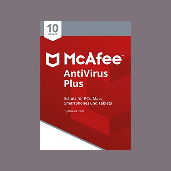 McAfee AntiVirus Plus 2018