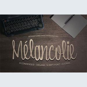 melancolie-font