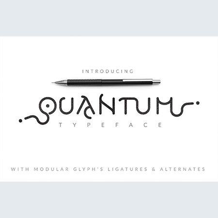 quantum-typeface