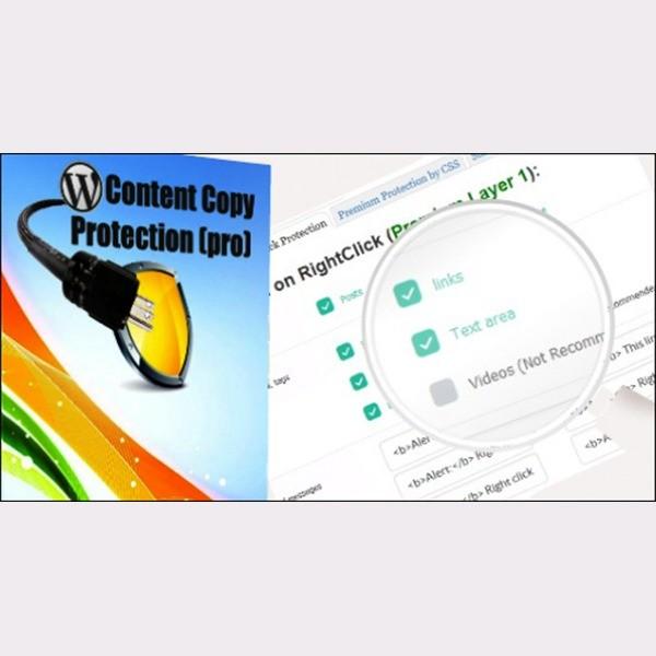 WP Content Copy Protection Pro – Plugin không cho copy nội dụng web