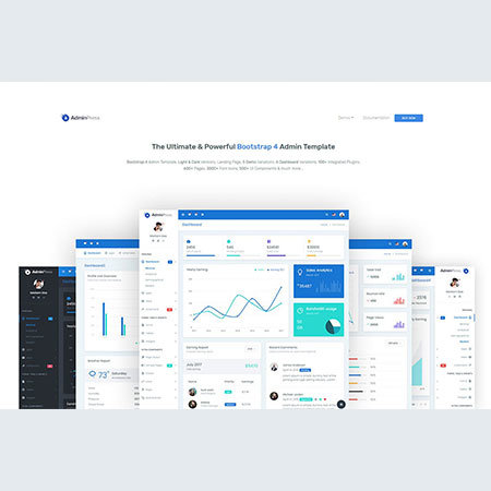 admin-press-the-ultimate-bootstrap-4-dashboard
